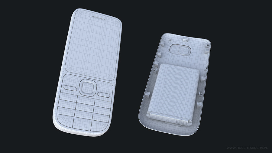 Nokia Cellphone 3d Model autor: Robert Kudera